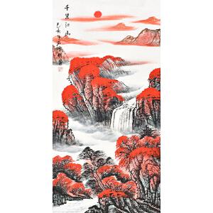 中国三峡画院一级画师  石雪伟千里江山gs01341