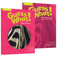 剑桥少儿英语教材5级别 Guess What! Level 5 Pupil's Book 英文原版 学生套装小学五年级主