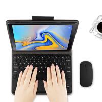 三星Galaxy Tab A蓝牙键盘皮套10.5英寸SM-T590/T595C/T597 黑色【三星Tab A 10.