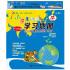 小学生学习地图-(4-6年级)(超值三合一中国地图+世界地图+小学生地理学习手册)与小学课程同步囊括小学教材中与地理相关的全部知识点