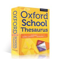 进口英文原版牛津词典系列:Oxford School Thesaurus 学校同义词平装工具书 儿童课外辅导学习用书
