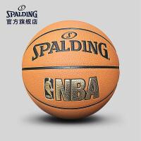 斯伯丁篮球官方正品耐磨室外nba7号水泥地比赛专用非真皮牛皮74-623Y