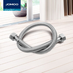 【每满100减50元】九牧(JOMOO)不锈钢软管马桶进水管单冷/双冷热面盆龙头软管4分口软管H5371