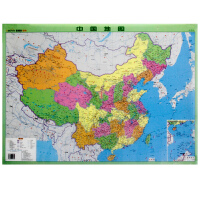 地图社中国地图水晶版 北京钟书