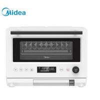 美的(Midea)复古微蒸烤一体多功能智能光波炉机变频台式蒸立方立体烘烤ZOPPAS蒸汽技术烤箱 PG2310