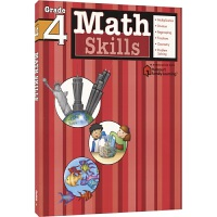Harcourt Family Learning - Math Skills Grade 4 哈考特家庭辅导数学专项练习