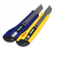 塑料美工刀大号裁纸刀小号美工刀高品质公用办公用塑料裁纸刀美工刀刀片