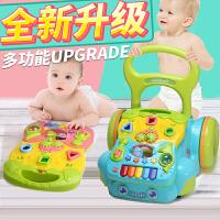 婴儿学步车宝宝手推车儿童玩具婴儿防侧翻音乐助步车6-18个月1岁7