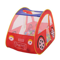户外玩具儿童帐篷便携魔术贴网纱汽车小帐篷