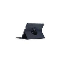 苹果平板ipad2/3/4保护套A1458 A1430 A1395皮套超薄全包软壳硅胶旋 ipad2/3/4 深蓝色