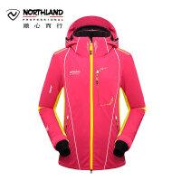 【品牌特惠】诺诗兰冬季户外滑雪服女式弹力防水透湿撞色滑雪衣GK132403