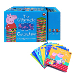 英文原版The Ultimate Peppa Pig Collection 50 Books Set小猪佩奇故事50册
