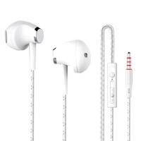 K59手机耳机 重低音vivo华为魅族oppo小米手机耳机线控带麦入耳式耳塞 重低音电脑mp3手机耳机通用线控带麦入耳