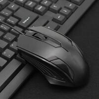 S82 有线鼠标 (办公笔记本台式电脑 USB游戏吃鸡LOL 商务家用男女生) 黑色