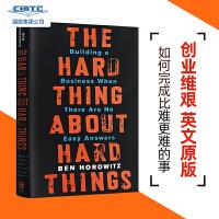 【现货】The Hard Thing About Hard Things: Building a Business W