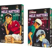 Detective Conan - Heiji Hattori 名侦探柯南 服部平次合集2册 畅销漫画 悬疑推理案件 英