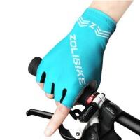 夏季半指手套公路车骑行手套男女防滑减震透气山地自行车手套