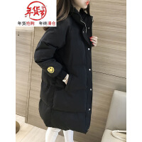 冬季羽绒棉衣女2018新款中长款韩版学生宽松bf加厚棉袄子外套