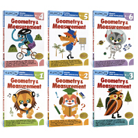 Kumon Math Workbooks Geometry & Measurement Grade 1-6 公文式教育