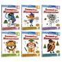 【预售】Kumon Math Workbooks Geometry & Measurement Grade 1-6 公文式教育 一~六年级教辅练习册 几何 测量 6~12岁 儿童英文原版进口图书