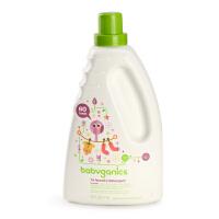 美国BabyGanics甘尼克宝贝宝宝天然浓缩洗衣液 1.77L 薰衣草香型