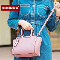 【支持礼品卡】DOODOO 包包2018新款日韩简约时尚女士手提百搭单肩斜挎女包翅膀包 D6171