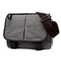 男包休闲单肩包男士斜挎包帆布包时尚学生背包大包包