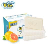 韩国U-ZA进口婴儿洗衣皂150g*3宝宝专用皂婴儿洗衣肥皂肤bb皂