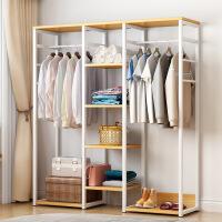 卧室衣架落地简易家用衣帽架简约现代衣服架置物架省空间
