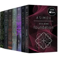 【全店满300减80】银河帝国基地三部曲 英文原版小说 Foundation系列3册 科幻小说书 Isaac Asimov 艾萨克阿西莫夫