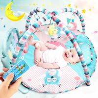 婴儿健身架 0-1岁宝宝音乐游戏毯新生 脚踏钢琴玩具 0-3-6-12个月