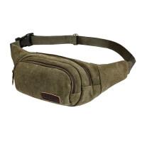 户外腰包运动胸包休闲小腰带包旅游手机包帆布男包斜挎小包