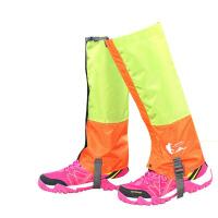 雪套 户外登山徒步防雪防水脚套护腿套男女沙漠防沙鞋套亲子