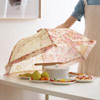 菜罩苍蝇罩【支持礼品卡支付】可折叠饭菜罩子防苍蝇伞罩 家用食物防尘罩饭桌餐桌菜罩