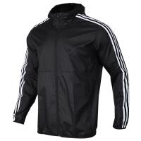 Adidas阿迪达斯 男装 运动休闲防风连帽夹克外套 EH3822