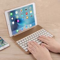苹果iPad Air2蓝牙键盘iPad 6保护壳9.7寸A1566/A1567电脑无线键盘 冰川银【iPad Air