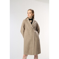 茧型宽松大码显瘦双面羊绒大衣女加肥加大中长款2018新款呢子外套