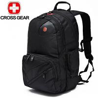 SWISSGEAR瑞士军刀双肩背包14英寸多功能笔记本电脑包 男女休闲旅行包
