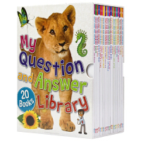 My Question and Answer Library Box Set 幼儿问与答 百科图书馆20册 儿童英语读