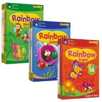【预售】SAP Rainbow Maths English Science K1K2 彩虹幼儿园学前班24册 新加坡教材