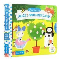 爱丽丝梦游仙境 Alice in Wonderland 英文原版 First Stories系列 纸板书 操作活动书 亲
