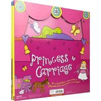 【首页抢券300-100】Convertible Princess Carriage 变形大冒险车书 公主花车 可组装立