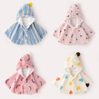 儿童防风外套冬装婴儿披风