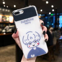 苹果X手机壳iPhone8plus情侣款7plus镜面XR补妆镜子XSMAX个性创意6sp网红风男女