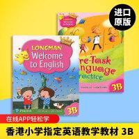 正版 Longman Welcome to English Gold 3B 香港朗文培生少儿小学英语教材 三年级下学期学