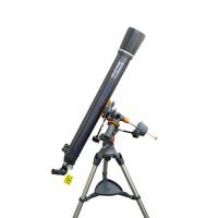 买一送三 星特朗90EQ 90/1000入门折射式天文望远镜 不绣钢脚架高端稳定观天观景天地两用