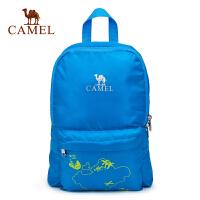 camel骆驼户外春季男童女童8L郊游外出双肩包儿童折叠背包