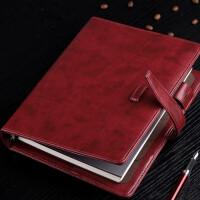 卡杰商务办公A5活页本手帐本复古日记本子笔记本文具记事本
