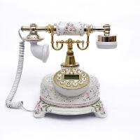 田园家用欧式复古古董电话机时尚创意仿古有线电话