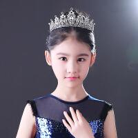 女童皇冠儿童皇冠发箍爱莎公主王冠儿童演出配饰发箍主持走秀皇冠